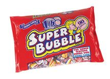 Super Bubble Bubble Gum 12 ~ 1lb bags