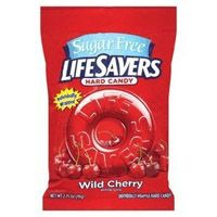 Lifesavers Sugar Free Wild Cherry Singles - 12 ~ 2.75oz Bags