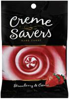 Lifesavers Strawberry Creme Savers - 12 ~ 6oz Bags