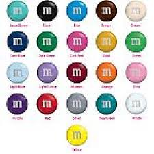 M&M's Individual Colors