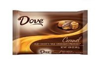 Dove Milk Chocolate Caramel Promises ~ 1/9.5oz. Bag 