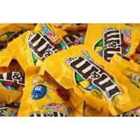 M&M Peanut Fun Size ~ 5lb. Bag