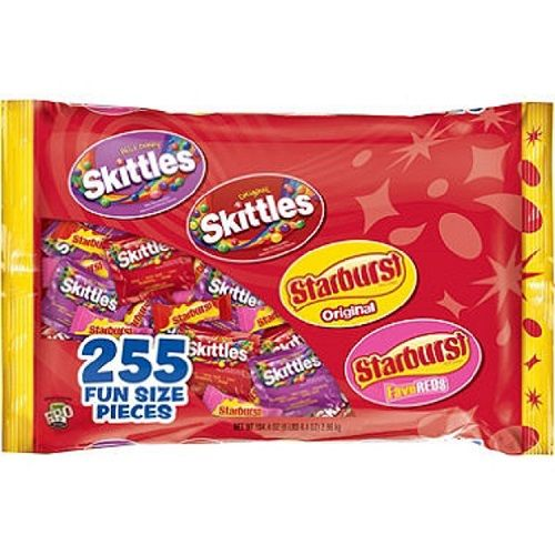 Skittles and Starburst Mix