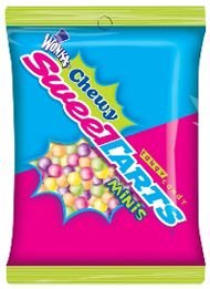 Chewy Sweetarts 12 ~ 5oz Bags