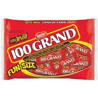 100 Grand Fun Size Bars ~ 12.5oz Bag
