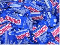 Nestle Crunch Mini Bars ~ 25lb 