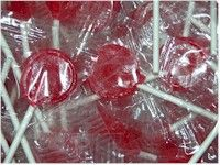 Cherry Flavored Jolly Pops