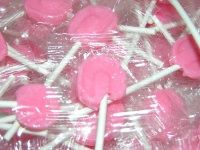 Pink Jolly Pops ~ 5lb