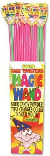 Face Twisters Magic Wand ~ 48 Count