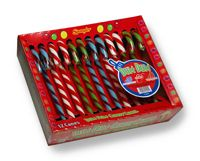 "Dum Dum Assorted 6"" Candy Canes ~ 12 - 12 Count Cradles"