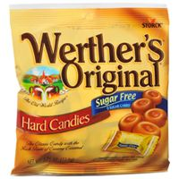 Sugar Free Werthers Butter Toffee  ~ 12 - 2.75oz Bags