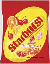 Starbursts Asst. Fruit Chews - 41oz Bag