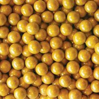 Bulk Gold Sixlets ~ 10lbs.   