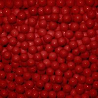 Red Candy Beads ~ 2lbs.