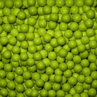Lime Green Candy Beads ~ 2lbs.