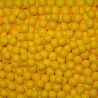 Yellow Candy Beads ~ 2lbs.