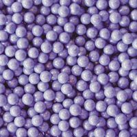Lavender Candy Beads ~ 2lbs.