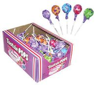 Bulk Wild Berry Tootsie Pops 10~100 Ct. Boxes