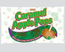 Tootsie Roll Caramel Apple Pops