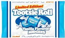 Tootsie Roll Vanilla Midgees ~ 50 Count Bag