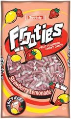 Bulk Tootsie Roll Strawberry Lemonade Frooties  12~360 Ct. Bags