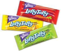 Willy Wonka Asst, Laffy Taffy ~ 5lb.