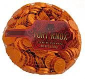 Fort Knox Chocolate Orange Coins - 1lb