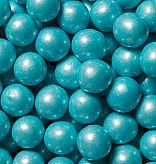 1/2 inch Shimmer Powder Blue Gumballs - 2lbs