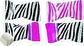 Zebra Print Buttermints ~ 50 Count Bag