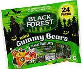 Black Forest Mini Gummy Bears - 24 Fun Packs