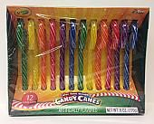 "Crayola Color Your Mouth 6"" Candy Canes ~ 12 - 12 Count Cradles"