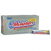 3 Musketeers Candy Bar - 36ct.