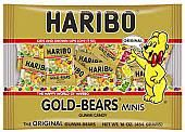 Haribo Mini Gummy Bears ~ 44 ct.