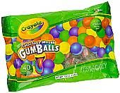 Crayola Color Your Mouth Gumballs - 40 Piece Bag
