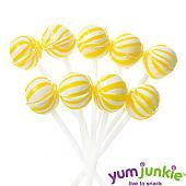 Yellow Petite Sassy Suckers Lollipops ~ 400 Count