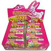 Carousel Bubble Gum Eggs ~ 24 Count