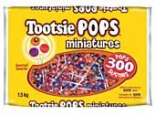 Mini Tootsie Roll Pops ~ 300 Count