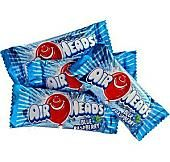 Airheads Blue Raspberry Taffy Mini Bars - 5lbs