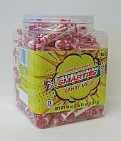 CeDe Smarties Candy Rolls in 180ct Jar