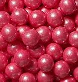 1/2 inch Shimmer Bright Pink Gumballs - 2lbs