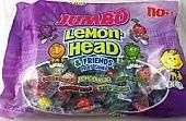 Jumbo Lemonheads and Friends ~ 110 Count Bag
