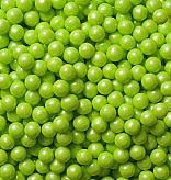 Shimmer Lime Green Candy Beads ~ 2lbs.