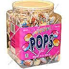 CeDe Smartie Lollipops ~ 120 Count Tub