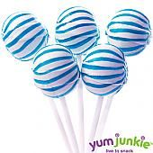 Blue Sassy Suckers Lollipops ~ 100 Count
