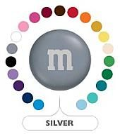 Silver M&M's ~ 5lbs
