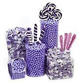Light Purple Candy Buffet