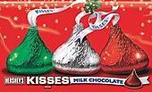 Hershey Christmas Kisses ~ 4.3lb.