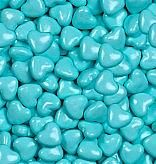 Light Blue Candy Hearts ~ 2lbs.