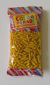 Sun Yellow Licorice Pastels - 1lb