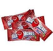 Airheads Cherry Taffy Mini Bars - 5lbs